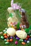 Ostern-Schokolade Stockfotos