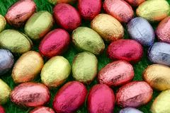 Ostern-Schokolade Lizenzfreies Stockfoto