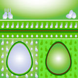 Ostern-Set Stock Abbildung