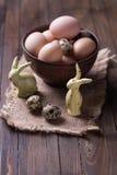 Ostern-Symbole Stockbild