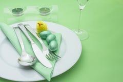Ostern-Tabelle Stockbild