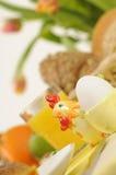 Ostern-Tabelleneinstellung Stockbild
