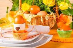 Ostern-Tischschmuck Lizenzfreie Stockfotos