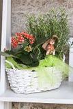 Ostern-Tischschmuck Stockbilder