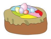 Ostern-Torte stock abbildung