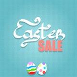 Ostern-Verkaufs-Hintergrund Lizenzfreie Abbildung