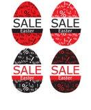 Ostern-Verkaufszeichen Stockbild