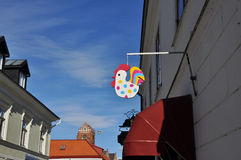 Ostern-Zeichen stockbild