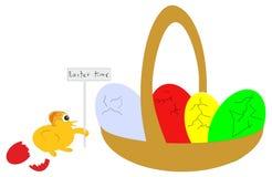 Ostern-Zeit. Lizenzfreies Stockbild
