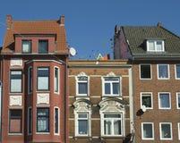 Ostertor gata (fjärdedelen) i den Bremen Tyskland Arkivbild