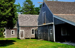 Osterville, MA: Crossby Boat Shops at Historical Society Royalty Free Stock Photo