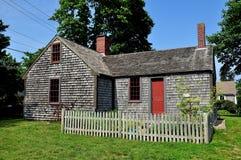 Osterville, mA: David Cammett House 1728 Imagenes de archivo