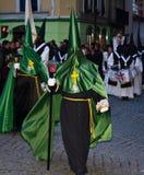 Osterwoche in Valladolid lizenzfreie stockfotos