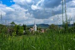Osteuropäische Dörfer - Siebenbürgen-Region Lizenzfreie Stockfotografie