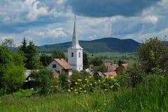 Osteuropäische Dörfer - Siebenbürgen-Region Lizenzfreies Stockfoto