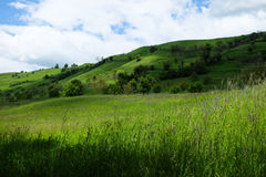 Osteuropäische Landschaft - Siebenbürgen-Region Lizenzfreies Stockfoto