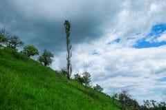Osteuropäische Landschaft - Siebenbürgen-Region Stockfotografie