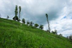 Osteuropäische Landschaft - Siebenbürgen-Region Stockbilder