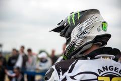 Osteuropäische Supermoto-Meisterschaft 2013 Stockfotos