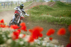 Osteuropäische Supermoto-Meisterschaft 2013 Lizenzfreie Stockbilder