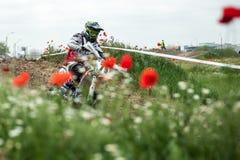 Osteuropäische Supermoto-Meisterschaft 2013 Stockbild