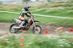 Osteuropäische Supermoto-Meisterschaft 2013 Lizenzfreie Stockfotos