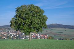 Ostheim vor der Rhoen,Bavaria,Germany Stock Photo