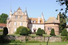 Osthoffen城堡 免版税库存图片