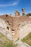 Ostia ancient ancient archaeological rome roma Italy Stock Photos