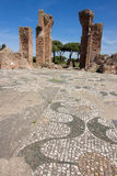 Ostia ancient ancient archaeological rome roma Italy Stock Photo