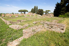 Ostia ancient ancient archaeological rome roma Italy Stock Images