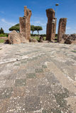 Ostia ancient ancient archaeological site Royalty Free Stock Photo
