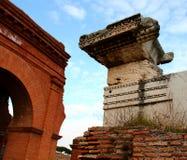 Ostia Antica废墟 免版税图库摄影