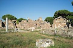 Ostia Antica στη Ρώμη Στοκ φωτογραφίες με δικαίωμα ελεύθερης χρήσης