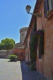 Ostia Antica Borgo Στοκ φωτογραφία με δικαίωμα ελεύθερης χρήσης