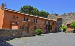 Ostia Antica Borgo Στοκ Φωτογραφία