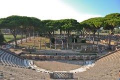 Ostia Antica - cidade antiga foto de stock royalty free