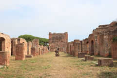 Ostia Antica Royalty Free Stock Photo