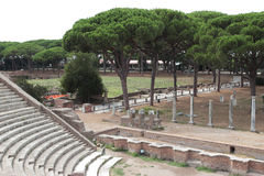 Ostia Antica Stock Photo
