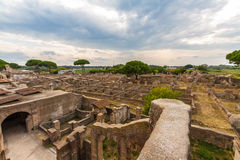 Ostia Antica Italy Royalty Free Stock Images