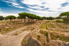 Ostia Antica Italy Royalty Free Stock Photos