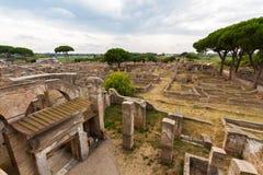 Ostia Antica Italy Stock Images