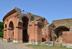 Ostia Antica near Rome in Italy Royalty Free Stock Photos