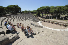 Ostia Antica, Rome, Italy Royalty Free Stock Images