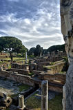 Ostia Antica Rome ruins Royalty Free Stock Photography