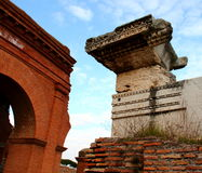 Ostia Antica ruins Royalty Free Stock Photography