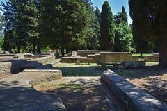 Ostia Antica Ruins Stock Image