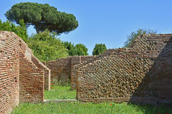 Ostia Antica Ruins Stock Photography