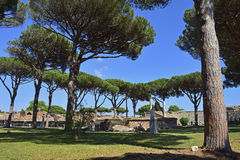 Ostia Antica Ruins Royalty Free Stock Image