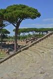 Ostia Antica ruiny Fotografia Stock